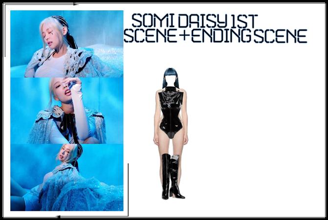 SomiXJae Daisy Somi daisy 1st solo scene+Ending