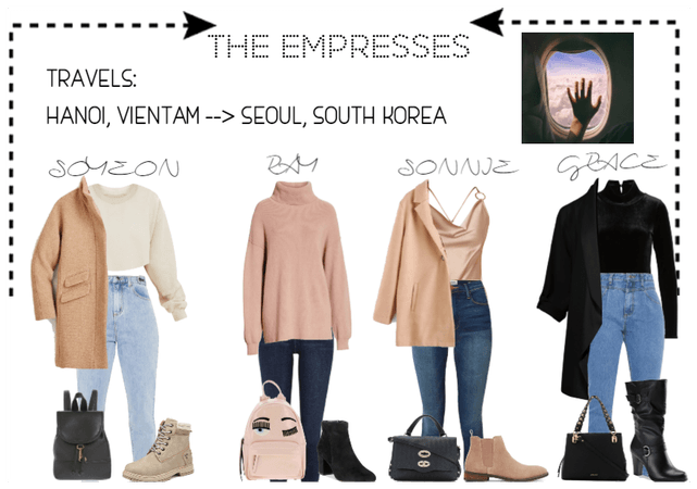 [THE EMPRESSES] TRAVELS: HANOI TO SEOUL