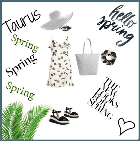A Taurus's spring spring spring!