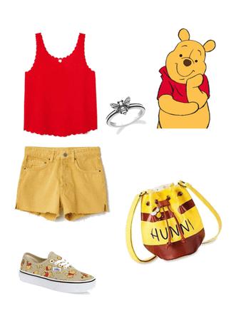 Winnie the Pooh Disney bound