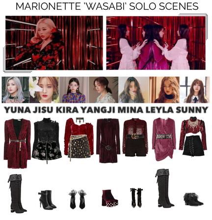 {MARIONETTE} 'Wasabi' M/V Solo Scenes