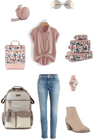Vanilla Latte + floral