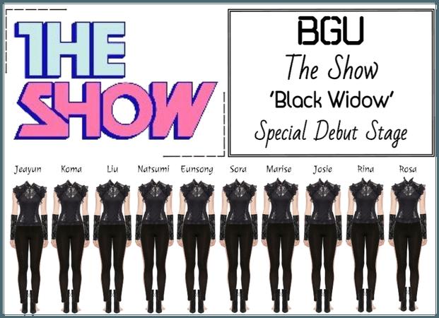 BGU The Show 'Black Widow' Special Stage
