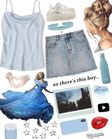 #Modern day Cinderella 💙