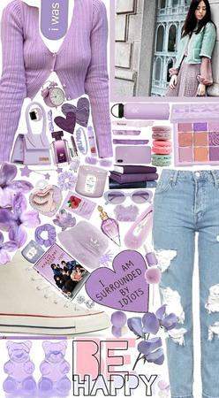 purple me pretty!💜🤍