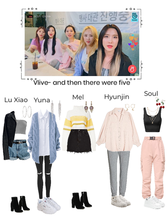 Vlive- and then there were five