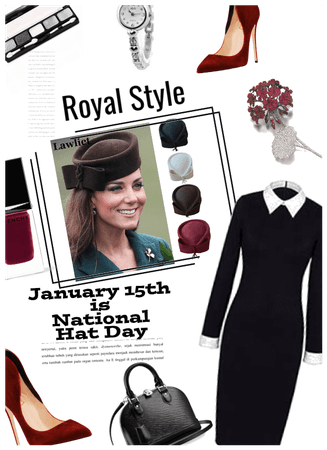 Royal Style/celebrate national hat day