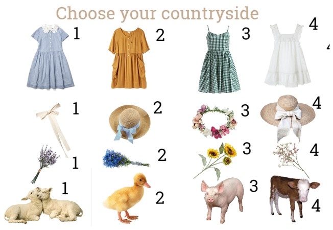 Choose your countryside