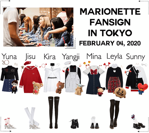 MARIONETTE (마리오네트) Tokyo Fansign