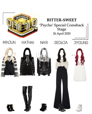 BITTER-SWEET [비터스윗] Inkigayo 200426