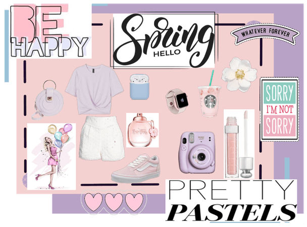 Spring- Pretty Pastels