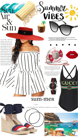 Summer - Gucci Hat & Chanel Bag