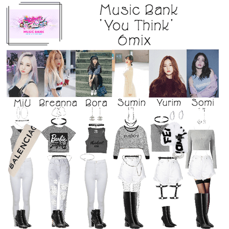 6mix - Music Bank Live Stage 'You Think'