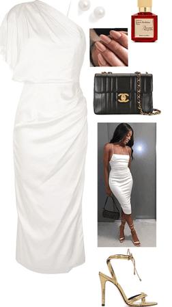 Cute White Dress Date Night