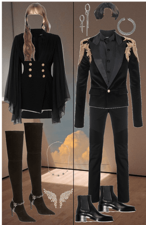 Outfit Couple - KPOP IDOL