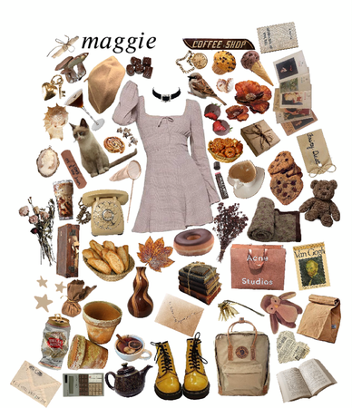 names as outfits . 2  — maggie