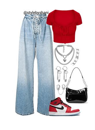 hype - red black white