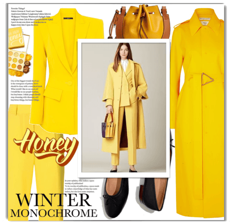 winter monochrome (honey)