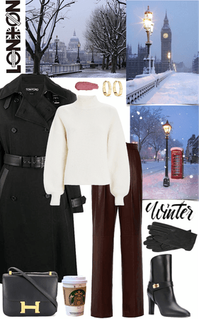 London winter look