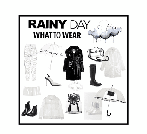 Rainy days💧🖤
