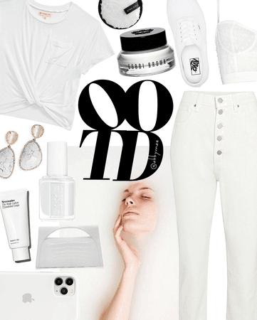 wardrobe blanc | celebrate ootd