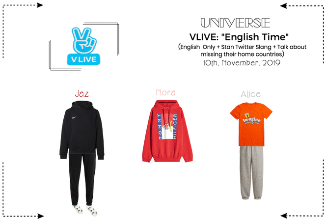 UNIVERSE Vlive: 'English Time'