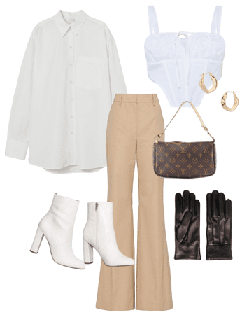 Model Off Duty Outfit #3