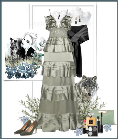 @Creativecollageart #WolfEye