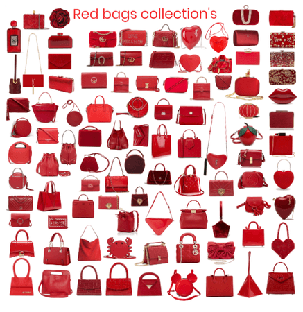 Red bags collection's by Giada Orlando 2019
