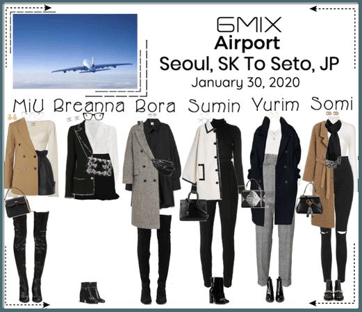 《6mix》Airport | Seoul, SK To Seto, JP
