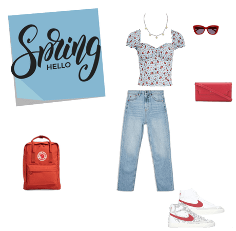 Spring Teen Outfit