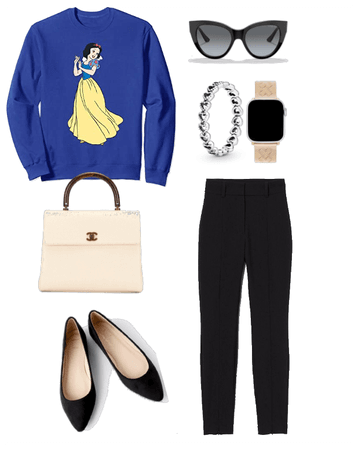 Casual with Snow White