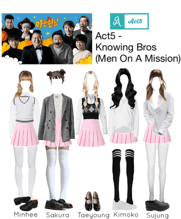 ACT5 - Knowing Bros (Men On A Mission)