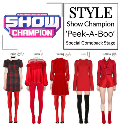 STYLE Show Champion 'Peek-A-Boo' Special Stage