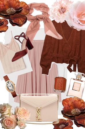 Pink + Rust