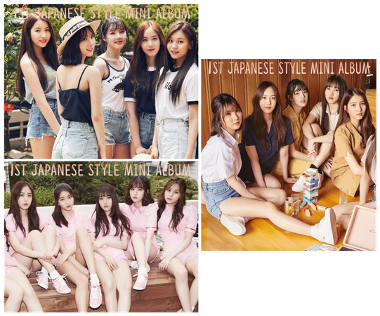 """STYLE """"1st Japanese STYLE"""" Concept Photos"""