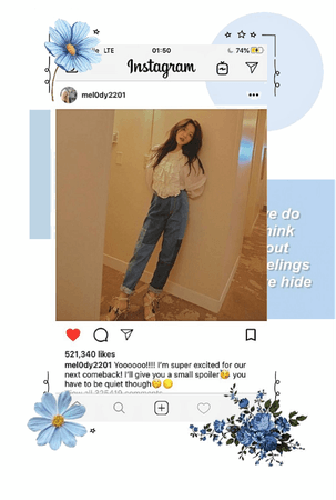 Mel instagram post