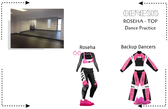GENESIS (게네시스) Roseha 'TOP' Dance Practice