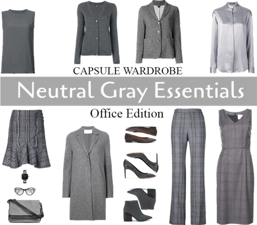 Capsule wardrobe: Neutral Gray Essentials