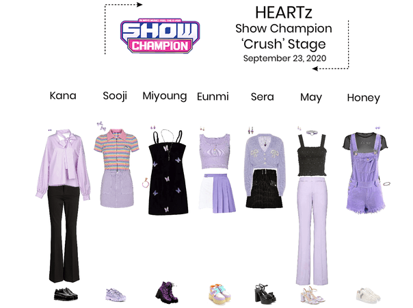 HEARTz// 'Crush' Show Champion Stage