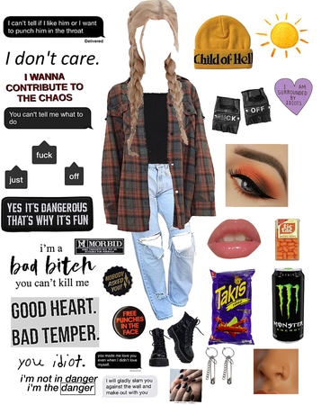 Bakugou Inspired outfit🧡