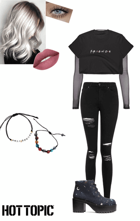 hot topic inspired outfit