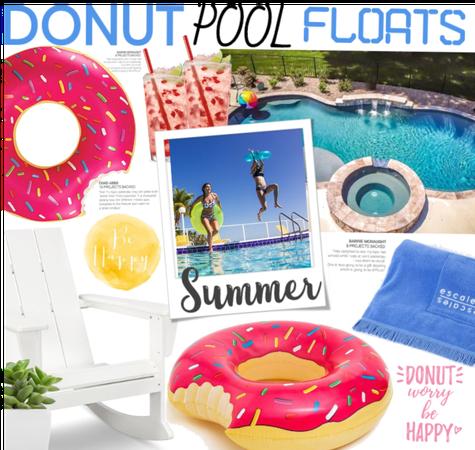 Donut Pool Floats! 🍩