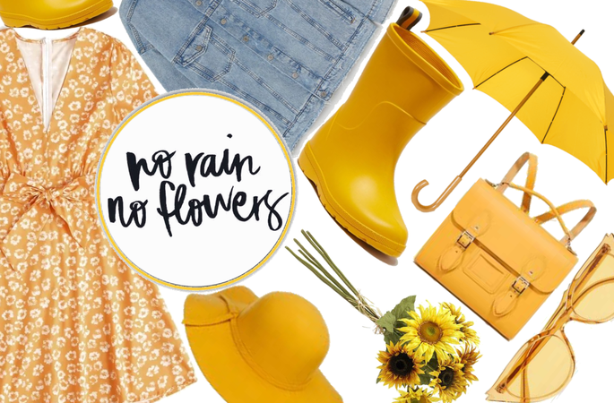 April Shower: No Rain, No Flowers