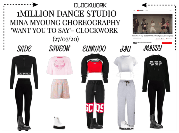 *CWK* | 1MILLION DANCE STUDIO | 'WANT YOU TO SAY'