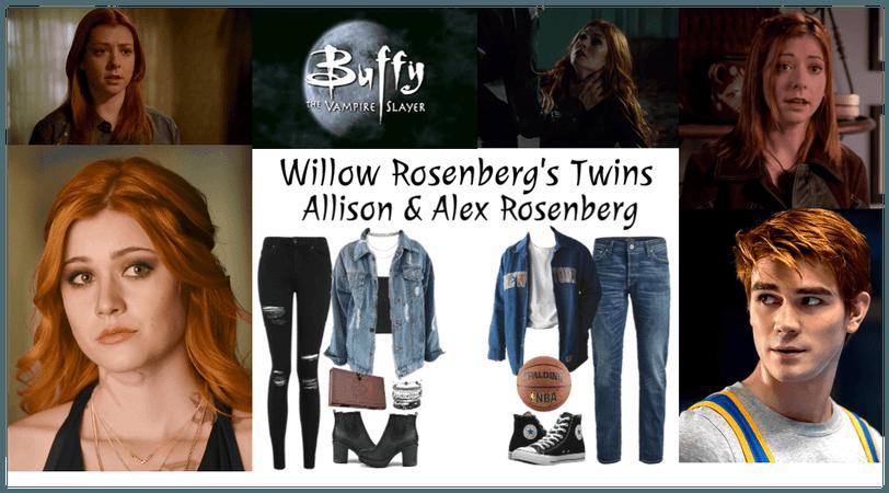 Willow Rosenberg Twins, Allison & Alex Rosenberg