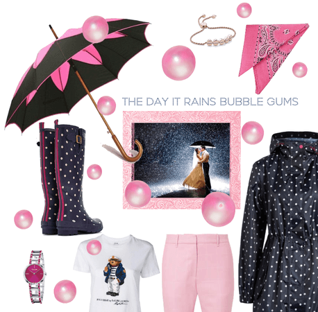 The day it rains bubble gums