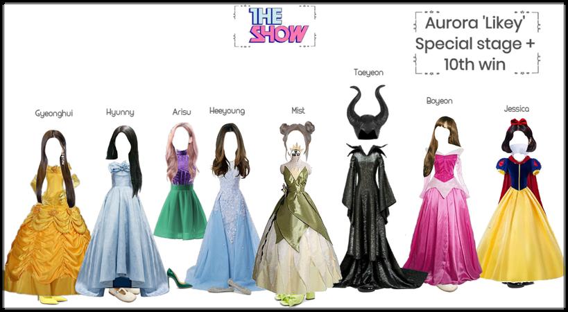 Aurora 'Likey' special stage