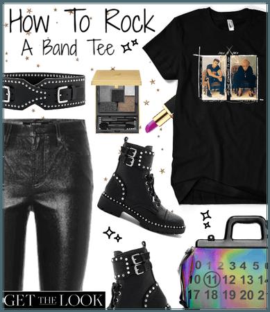 How to Rock a Band Tee (Jack & Jack)