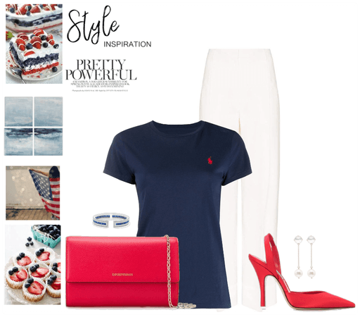 Red Blue White Style Inspiration